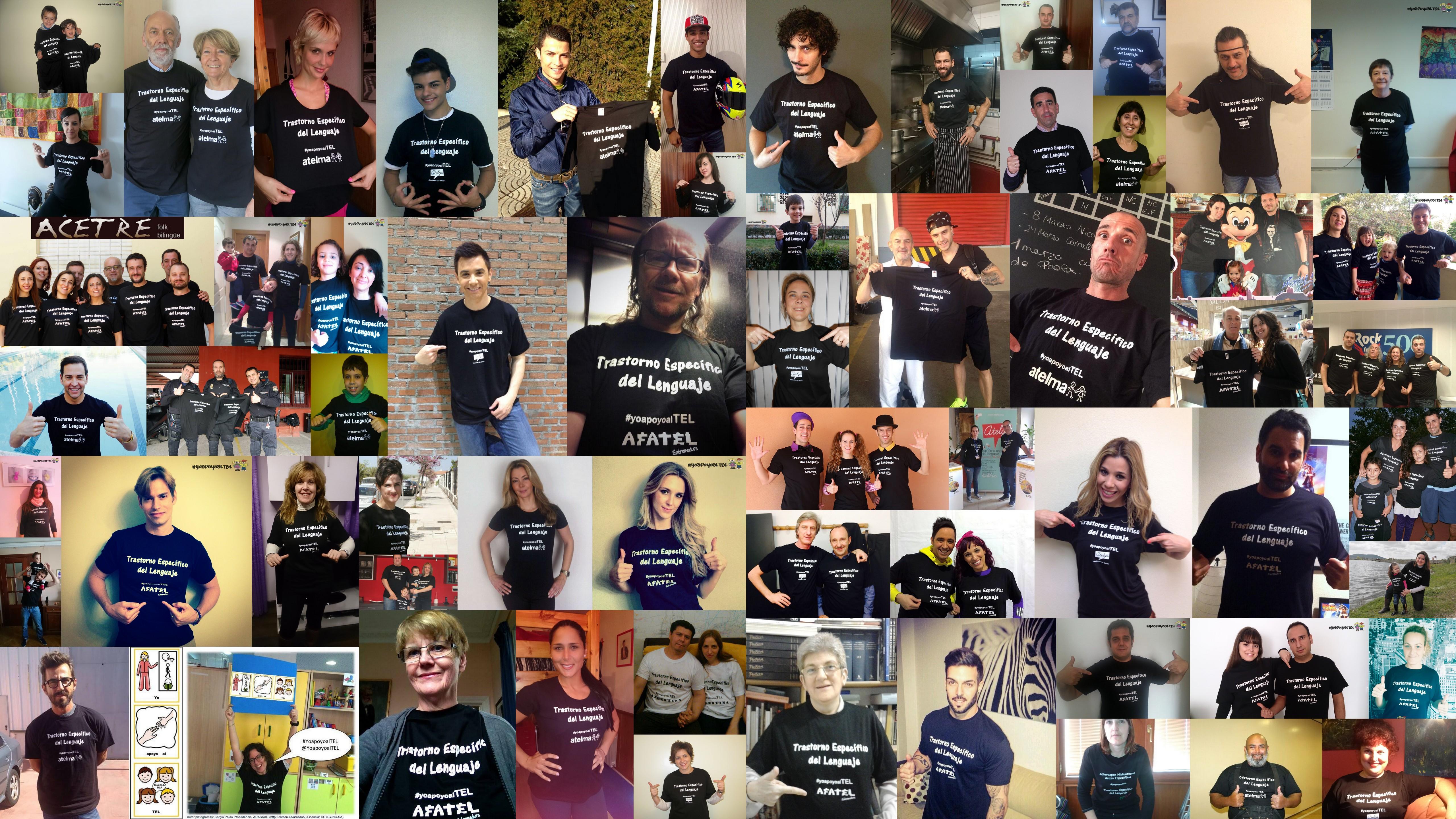 Collage de la iniciativa #YoApoyoalTEL @YoApoyoalTEL