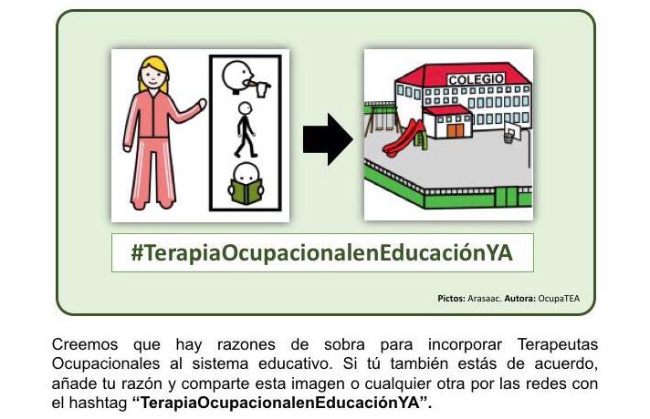 #TerapiaOcupacionalenEducaciónYA