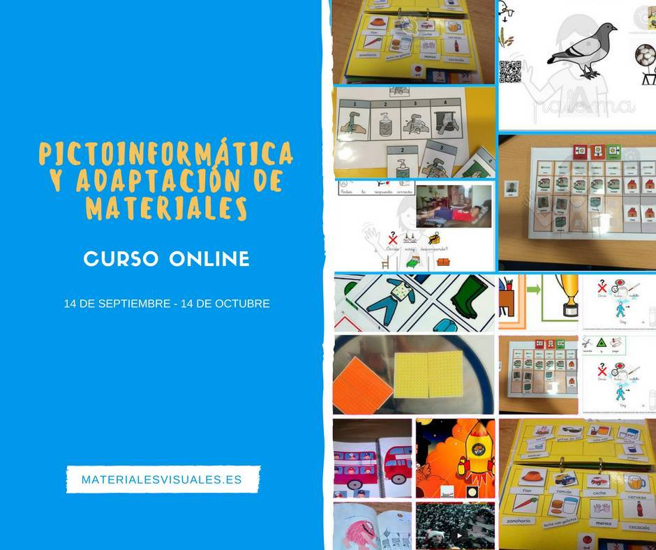 Pictoinformática online ed. Abril'2017 @ Online - https://materialesvisuales.es