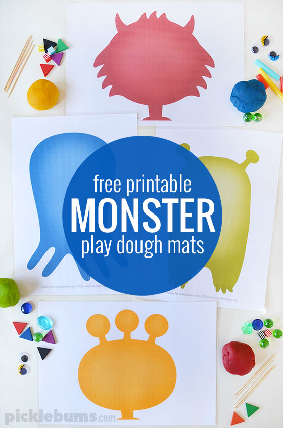 monster-play-dough-mats