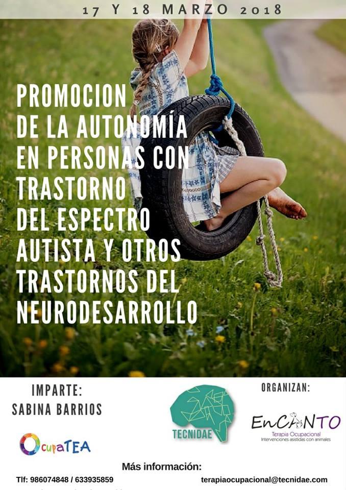 Curso Promoción de la autonomía y la participación en niños con TEA y trastornos del neurodesarrollo @ Tecnidae | Alicante | Comunidad Valenciana | España